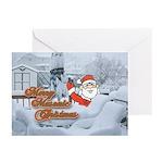 Merry Masonic Christmas Greeting Cards (Pk of 20)