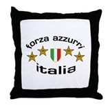 Forza Italia Throw Pillow
