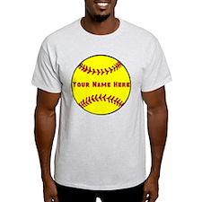 Personalized Softball T-Shirt