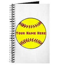 Personalized Softball Journal