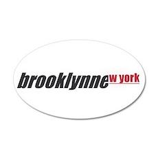 brooklynne_wyork 20x12 Oval Wall Decal