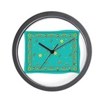 Capricorn Constellation Tapestry Design Wall Clock