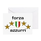 Forza Azzurri Greeting Cards (Pk of 10)