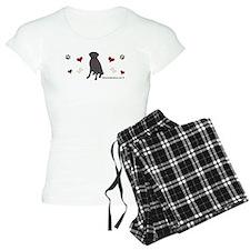 black lab-more breeds Pajamas