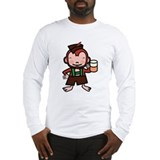 German Monkey Long Sleeve T-Shirt
