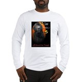 Count Droolacula The Newfie Long Sleeve T-Shirt