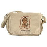 Gideon Bibles Eggbert Brunet Messenger Bag