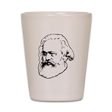 Cute Marxism Shot Glass
