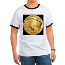 Black-Gold Buffalo-Indian T