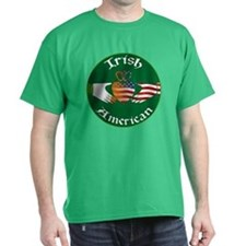 Irish American Claddagh T-Shirt