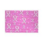 Pink Survivor Rectangle Magnet