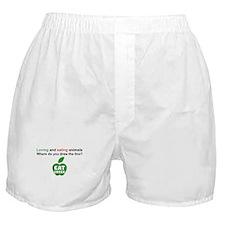 Eat Green Boxer Shorts