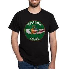 Ireland USA Connection Claddagh T-Shirt