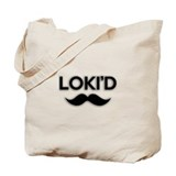 Lokid Black Tote Bag