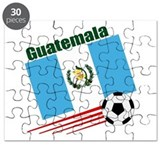 Guatemala Soccer Team Puzzle