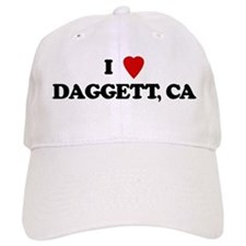 I Love Daggett Baseball Cap
