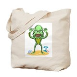 Monsters by Richard Sala Tote Bag