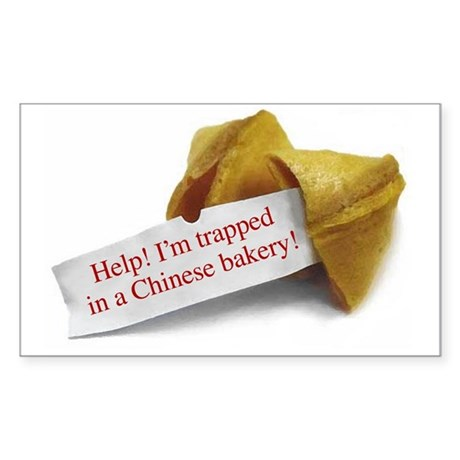 Chinese Bakery - Rectangle Sticker