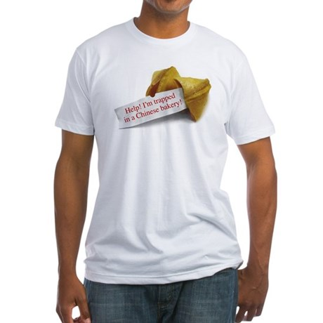 Chinese Bakery - Fitted T-Shirt