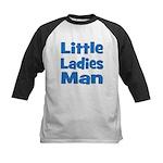 Little Ladies Man Kids Baseball Jersey