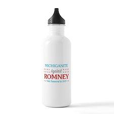Michiganite Against Romney Water Bottle