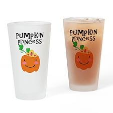 Pumpkin Princess Drinking Glass