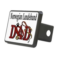 norwegian lundehund dad trans.png Hitch Cover