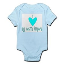 Cloth Diapers Infant Creeper