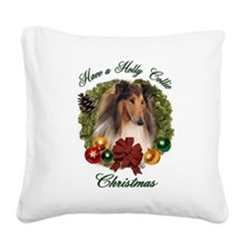 Christmas darin apparel.png Square Canvas Pillow