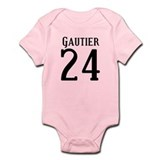 Nicks Football Jersey Number Onesie
