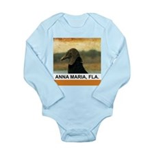 ancient vulture Long Sleeve Infant Bodysuit