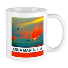 Bright sunset over Anna Maria Island Mug