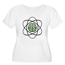 Atomic nucleus Brain T-Shirt