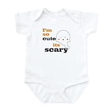 Im So Cute Its Scary Baby Bodysuit