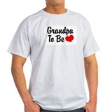 Grandpa To Be Ash Grey T-Shirt