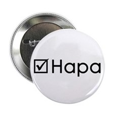 "Check Hapa 2.25"" Button (100 pack)"