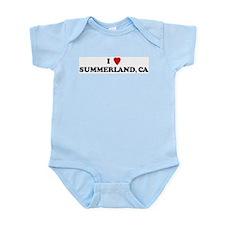I Love SUMMERLAND Infant Creeper