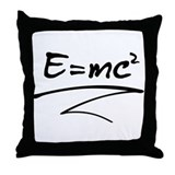 E = mc² Relativity Formula Throw Pillow