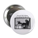 Office Chimp Button