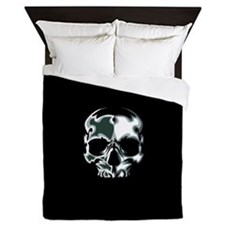 Chrome Skull Queen Duvet