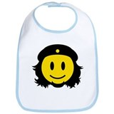 Che Smiley Icon Bib