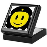 Che Smiley Icon Keepsake Box