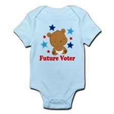 Future Voter Bear Infant Bodysuit