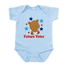 Future Voter Bear Infant Bodysuit