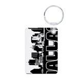 Dallas Skyline Keychains