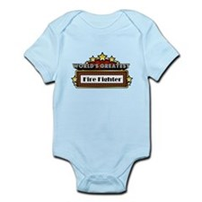World's Greatest Fire Fighter Infant Bodysuit