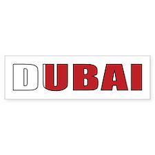 Dubai Bumper Bumper Sticker