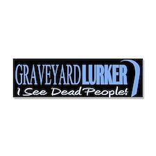 Graveyard Lurker Car Magnet 10 x 3