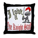 1 Night Stand Throw Pillow