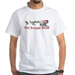 1 Night Stand White T-Shirt